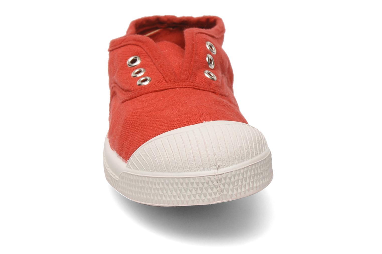 Sneakers Bensimon Tennis Elly E Rosso modello indossato