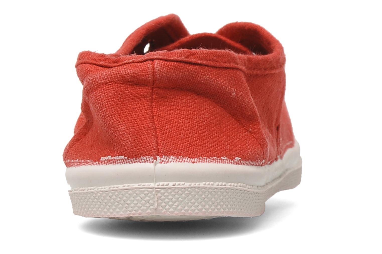 Sneakers Bensimon Tennis Elly E Rosso immagine destra