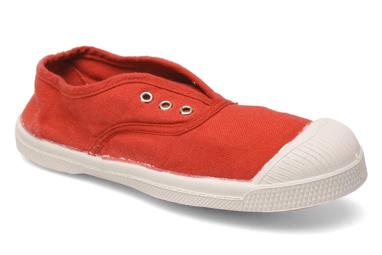 Sneakers Bensimon Tennis Elly E Rød detaljeret billede af skoene