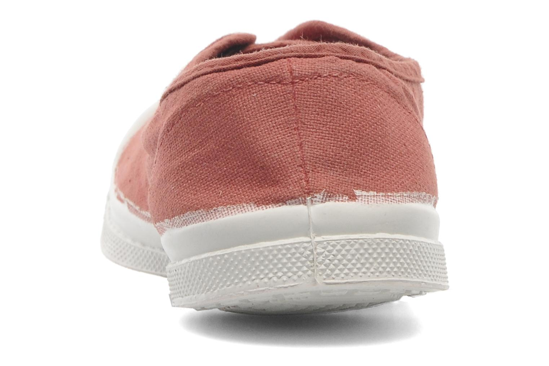 Sneaker Bensimon Tennis Elly E rosa ansicht von rechts