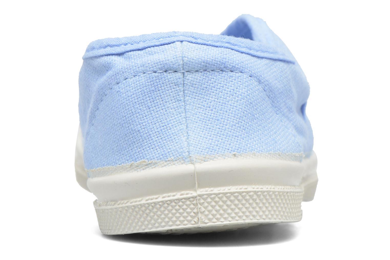 Sneaker Bensimon Tennis Elly E blau ansicht von rechts