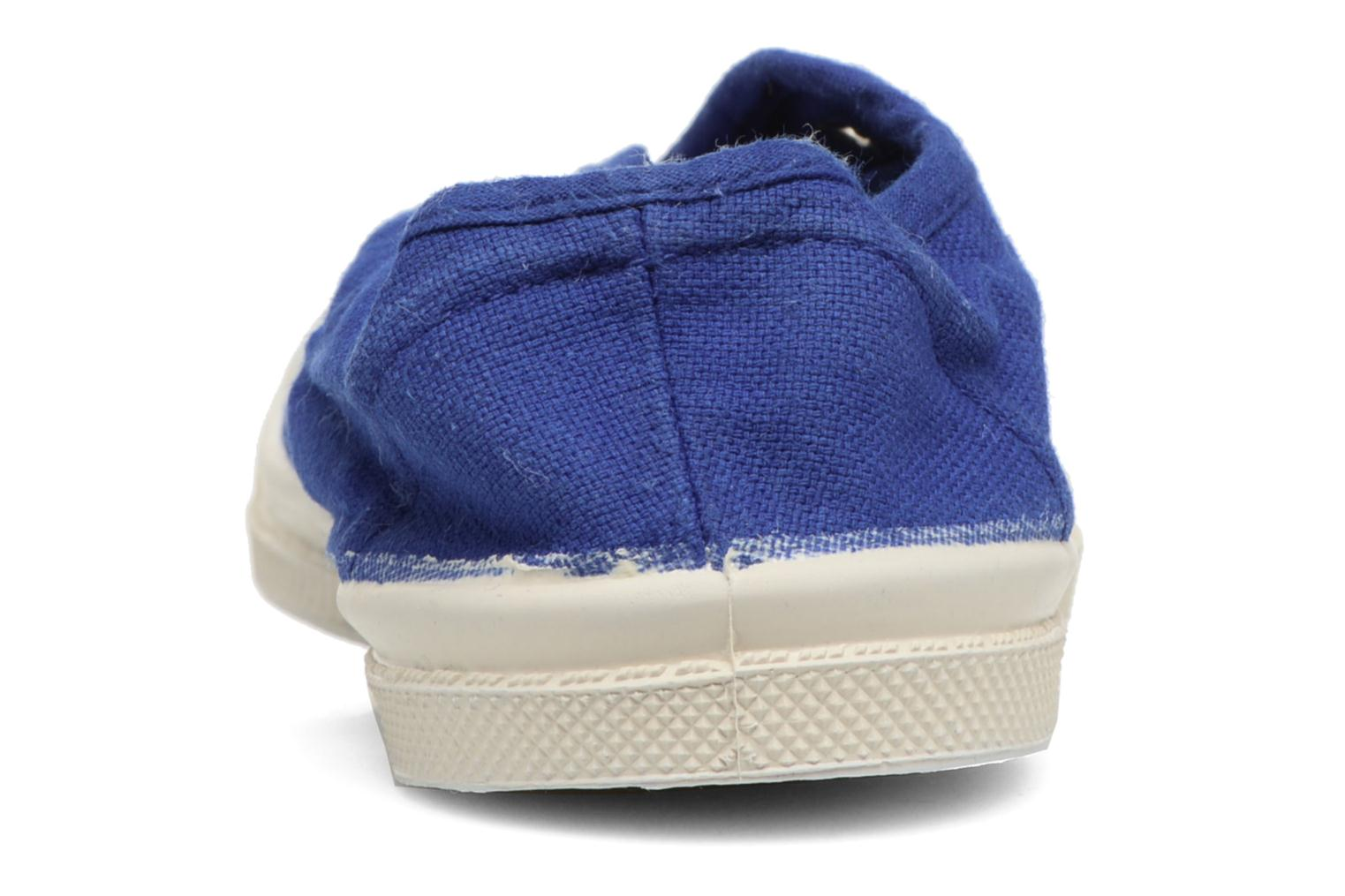 Trainers Bensimon Tennis Elly E Blue back view
