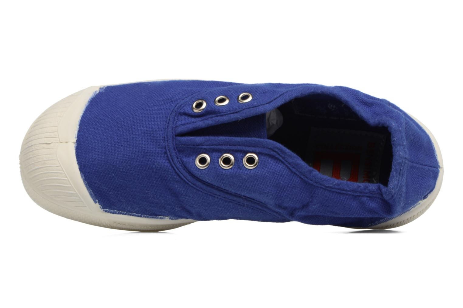 Trainers Bensimon Tennis Elly E Blue view from the left