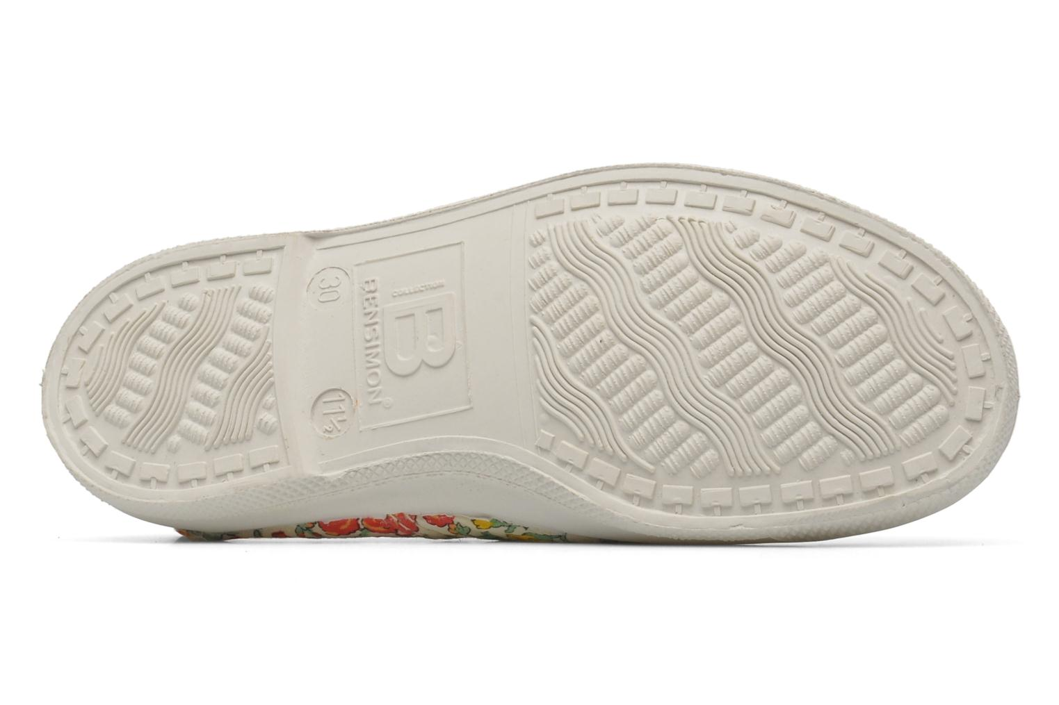 Trainers Bensimon Tennis Liberty E Multicolor view from above