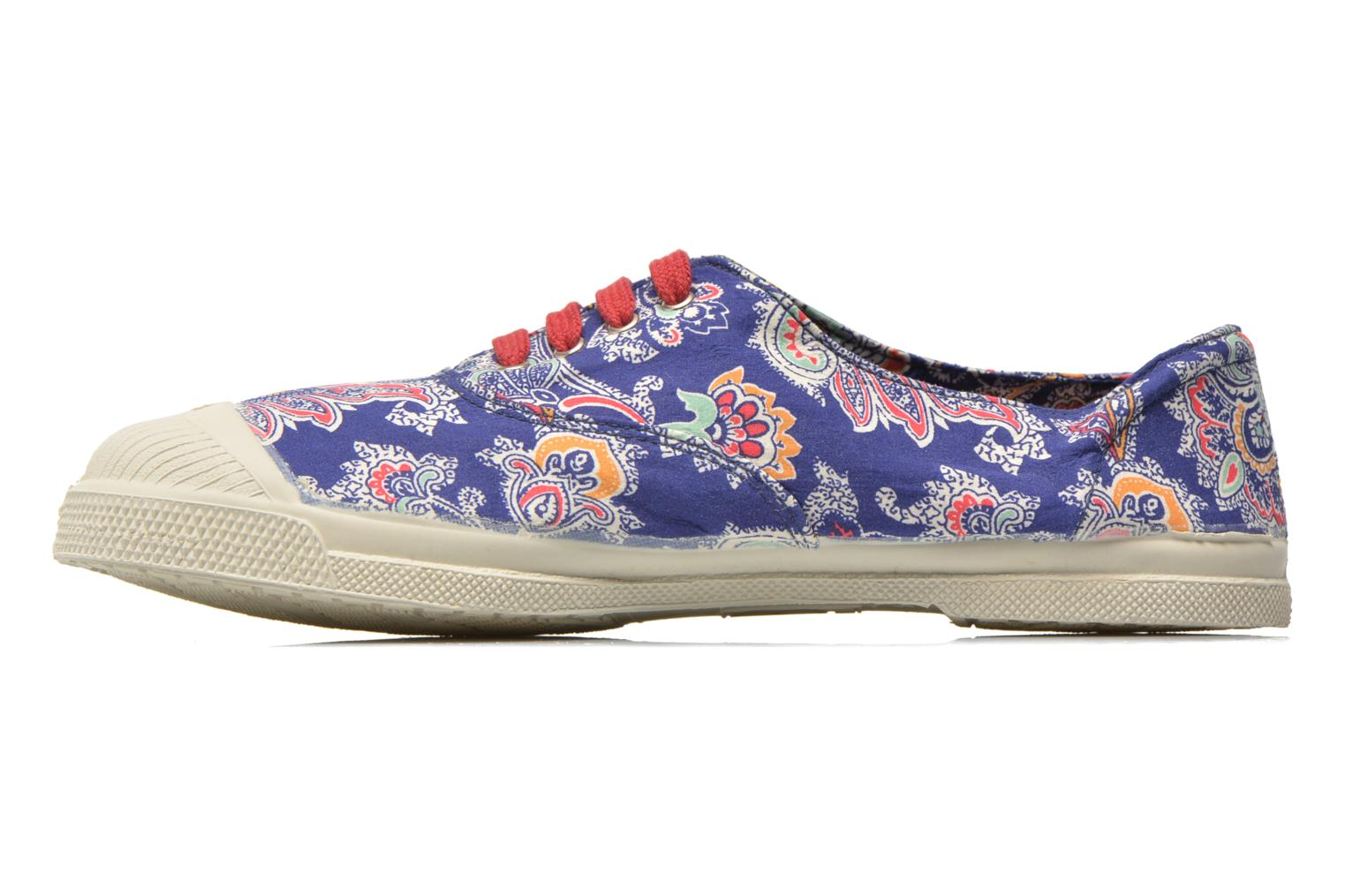Baskets Bensimon Tennis Liberty Bleu vue face