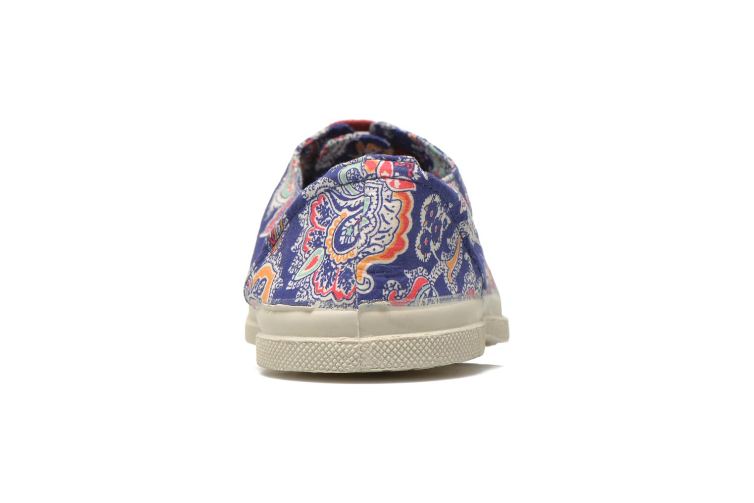 Trainers Bensimon Tennis Liberty Blue view from the right