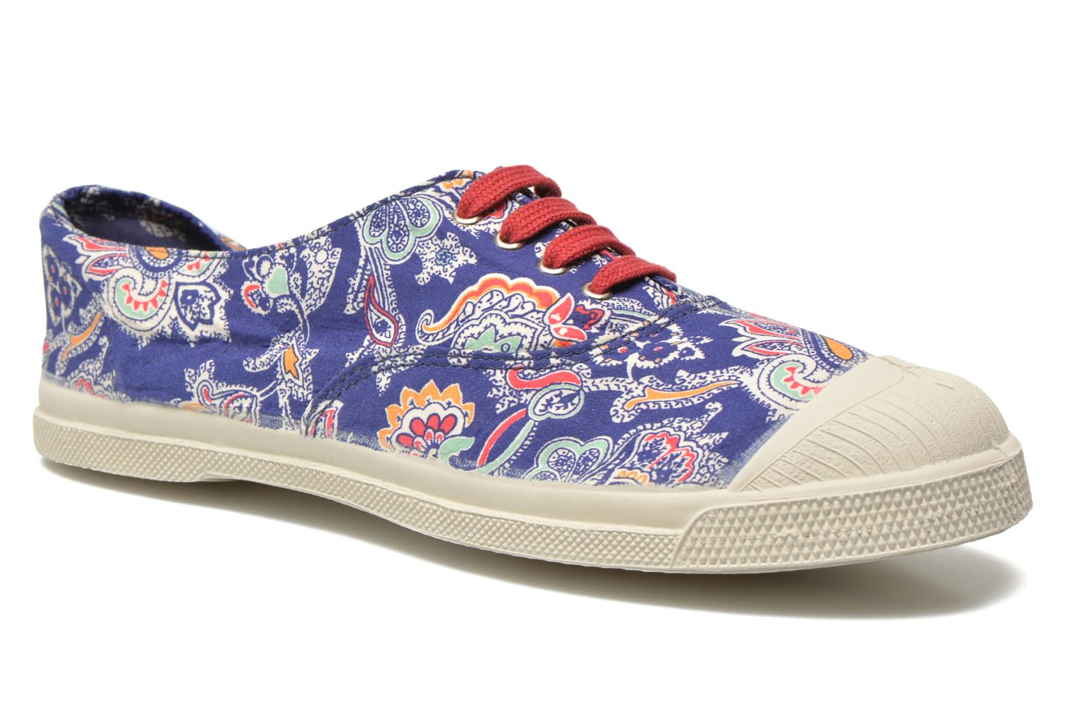 Baskets Bensimon Tennis Liberty Bleu vue détail/paire
