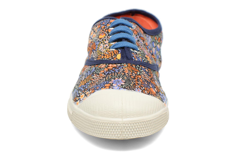 Baskets Bensimon Tennis Liberty Orange vue portées chaussures