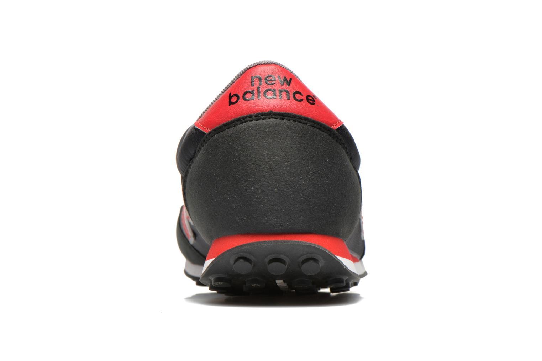 Sneaker New Balance U410 schwarz ansicht von rechts
