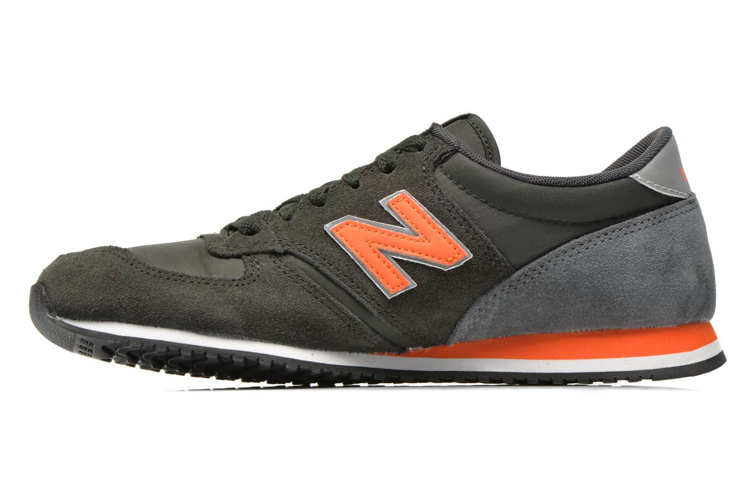 Baskets New Balance U420 Vert vue face