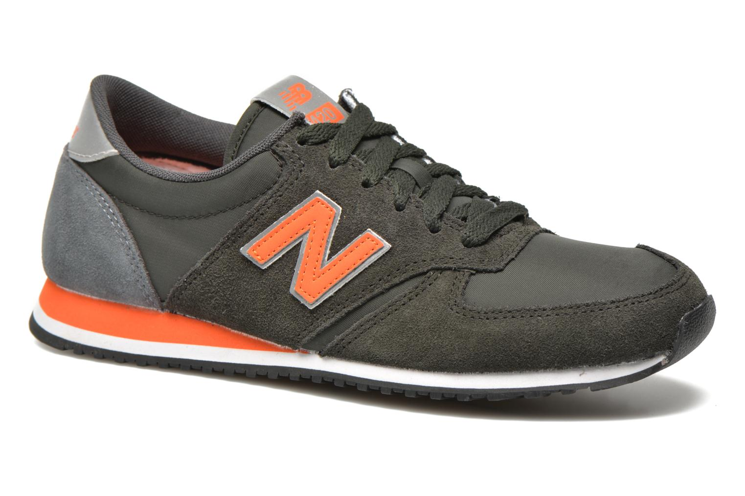Trainers New Balance U420 Green detailed view/ Pair view