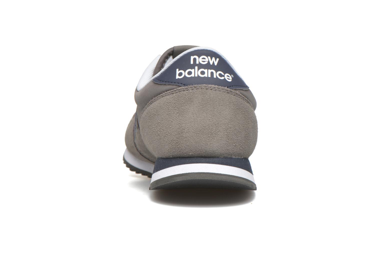 Sneakers New Balance U420 Grijs rechts