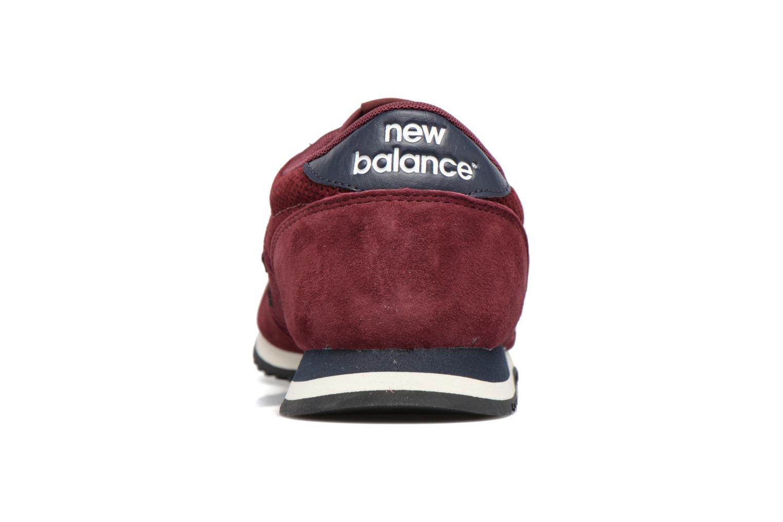 Baskets New Balance U420 Bordeaux vue droite