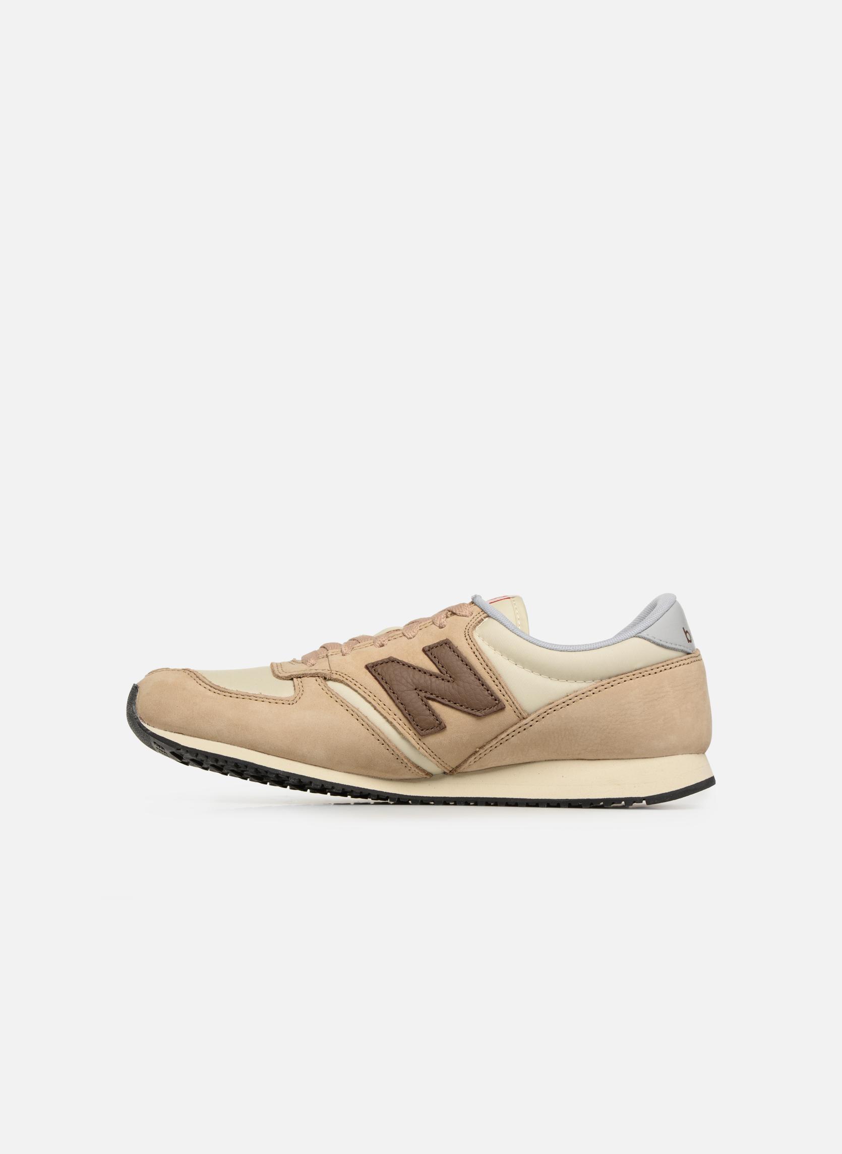 Sneakers New Balance U420 Beige voorkant