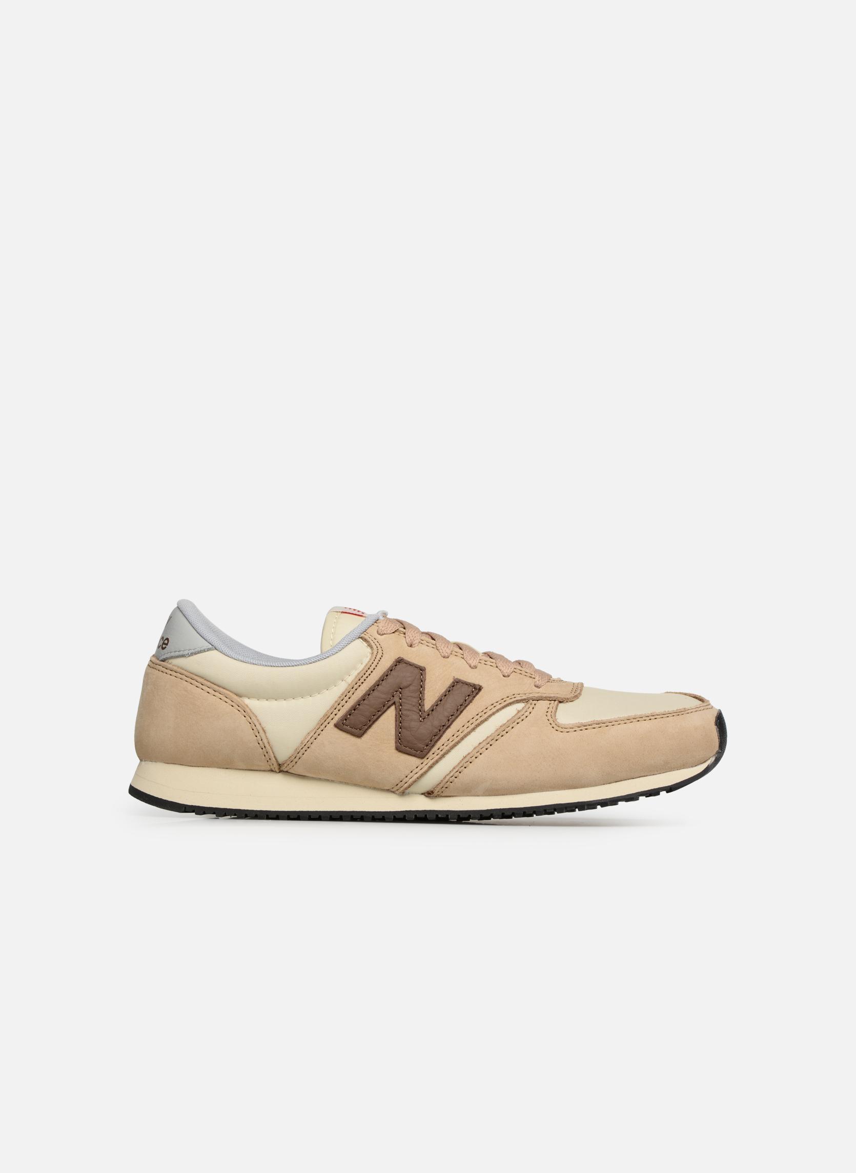 Sneakers New Balance U420 Beige achterkant