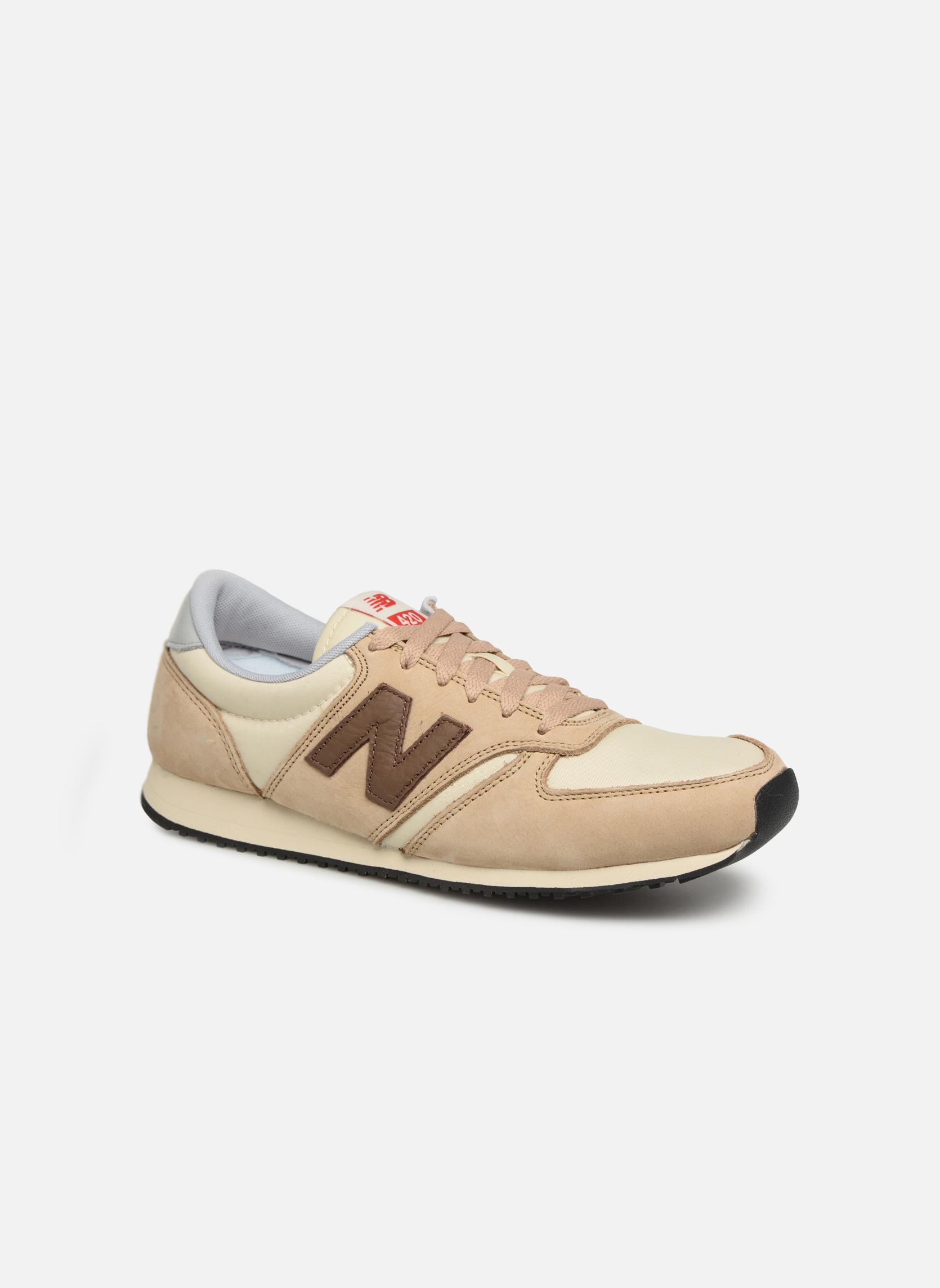 Sneakers New Balance U420 Beige detail