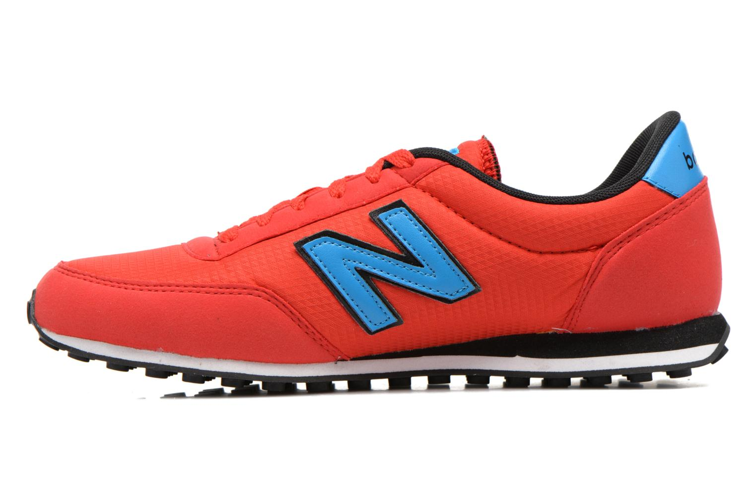 Baskets New Balance U410 W Rouge vue face