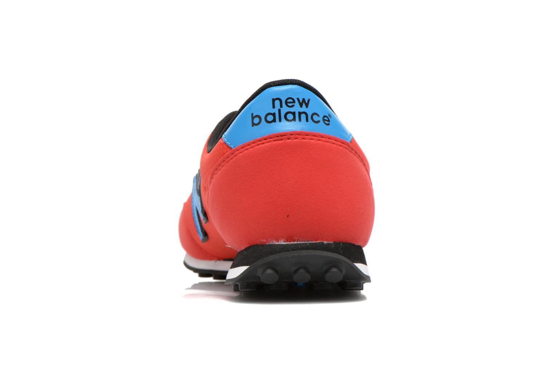Sneaker New Balance U410 W rot ansicht von rechts