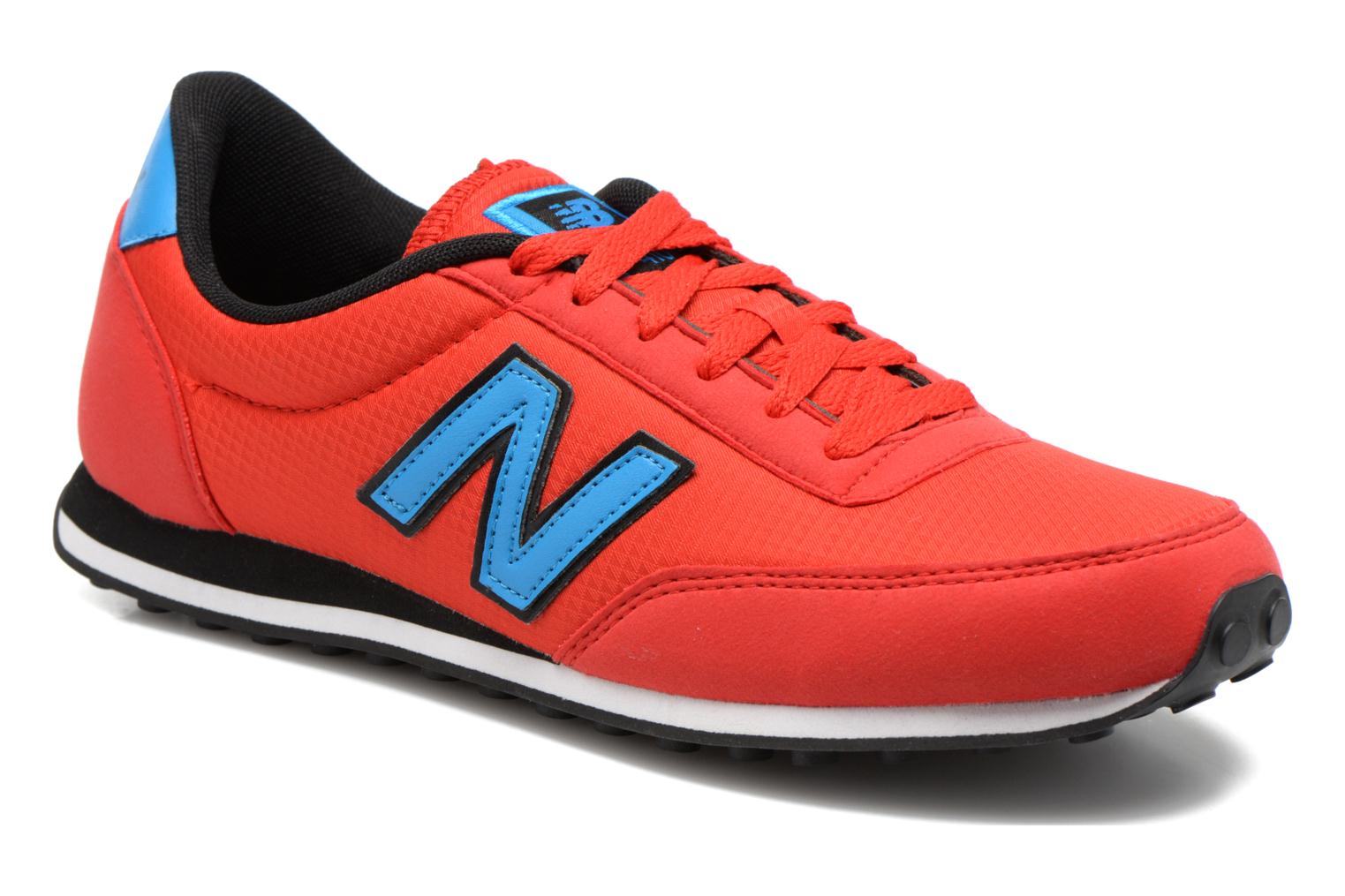 Baskets New Balance U410 W Rouge vue détail/paire