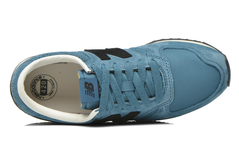 Sneakers New Balance U420 W Blå se fra venstre