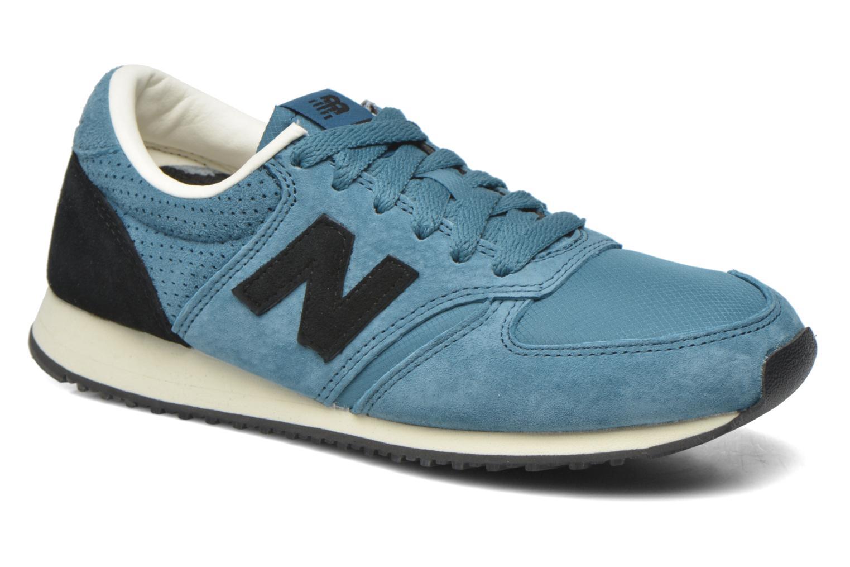 Sneakers New Balance U420 W Blå detaljeret billede af skoene