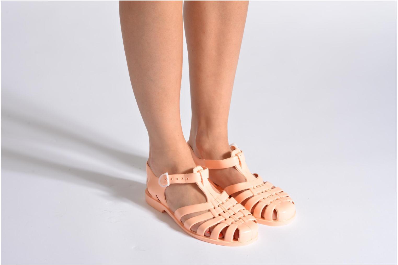 Chaussures de sport Méduse Sun W Vert vue bas / vue portée sac
