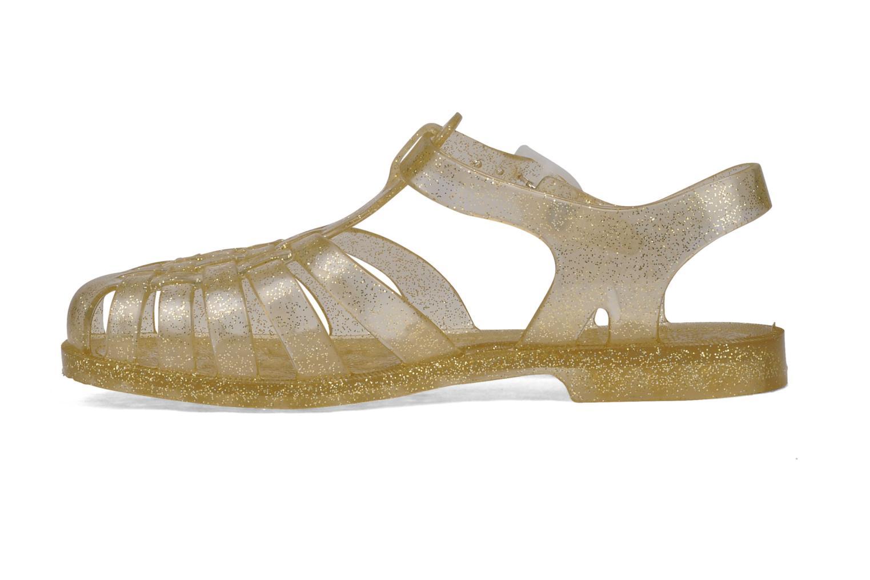 Zapatillas de deporte Méduse Sun W Oro y bronce vista de frente