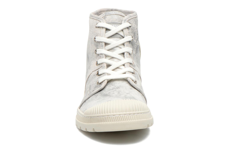 Baskets Pataugas Authentique Gris vue portées chaussures