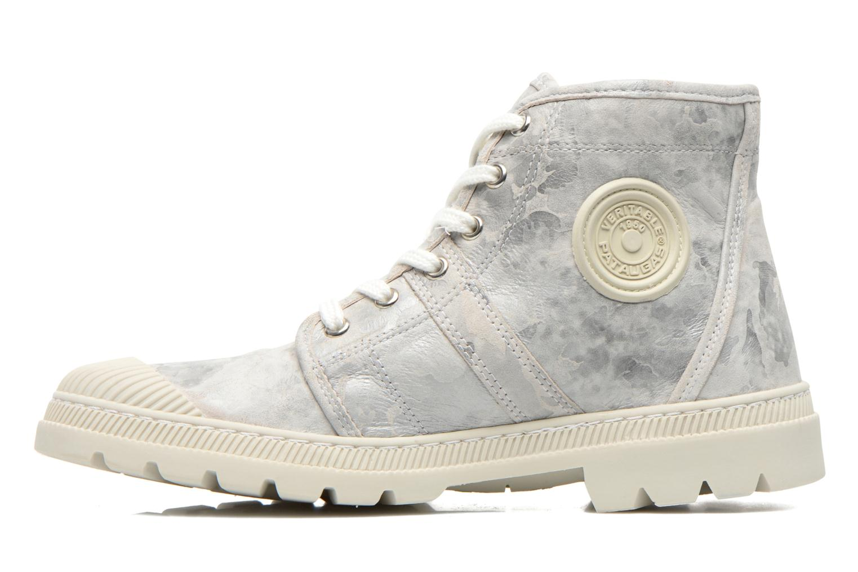 Sneakers Pataugas Authentique Grijs voorkant