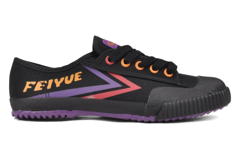 Sneaker Feiyue Fe Lo Male Canvas schwarz ansicht von hinten