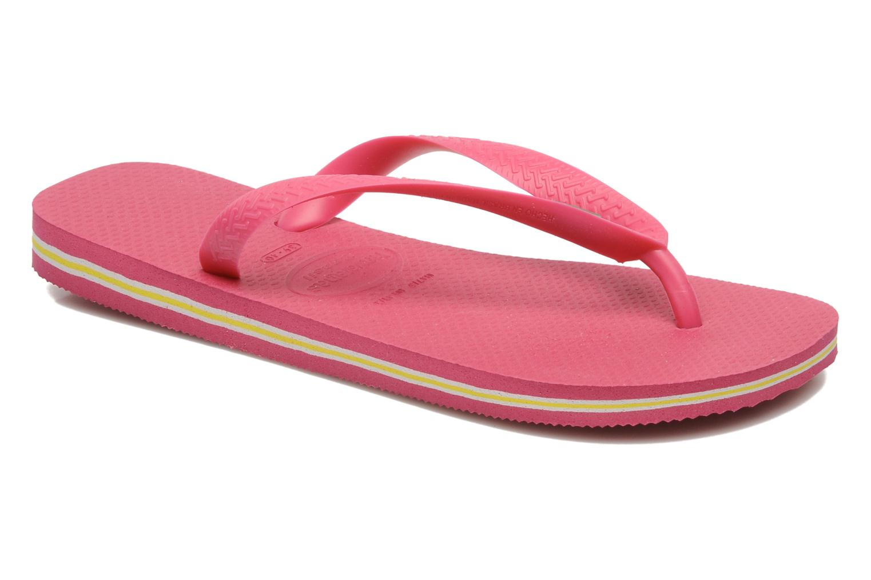 Slippers Havaianas Brasil Logo F Roze detail
