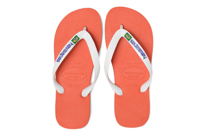 Slippers Havaianas Brasil Logo F Oranje 3/4'