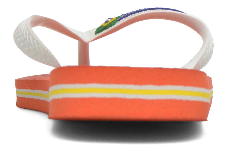 Slippers Havaianas Brasil Logo F Oranje rechts