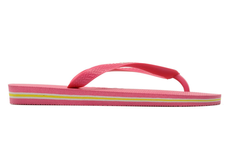 Slippers Havaianas Brasil Logo F Roze achterkant