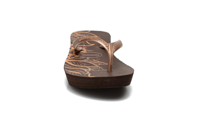 Slippers Havaianas High Light II F Goud en brons model