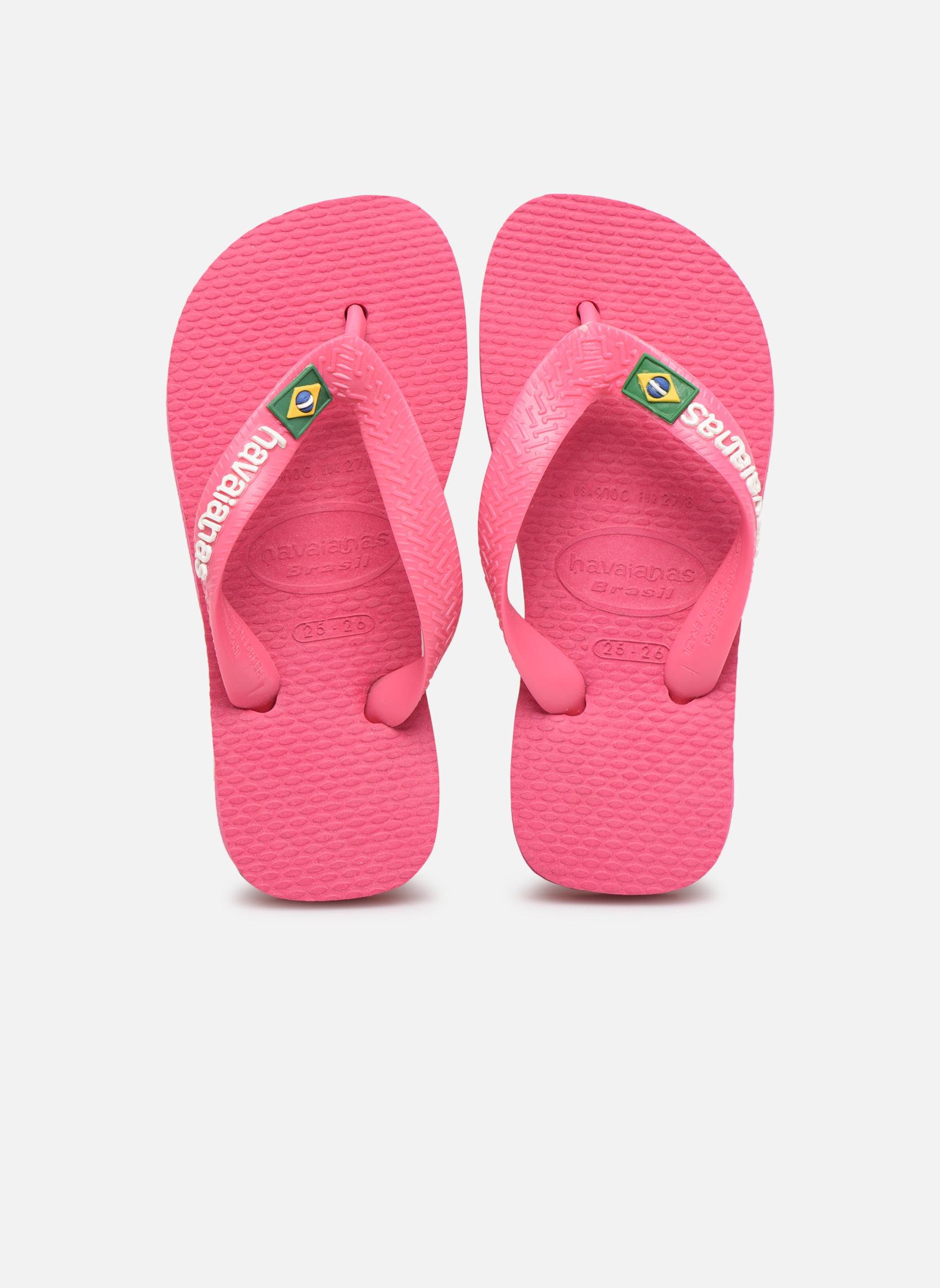 Slippers Havaianas Brasil Logo E Roze model