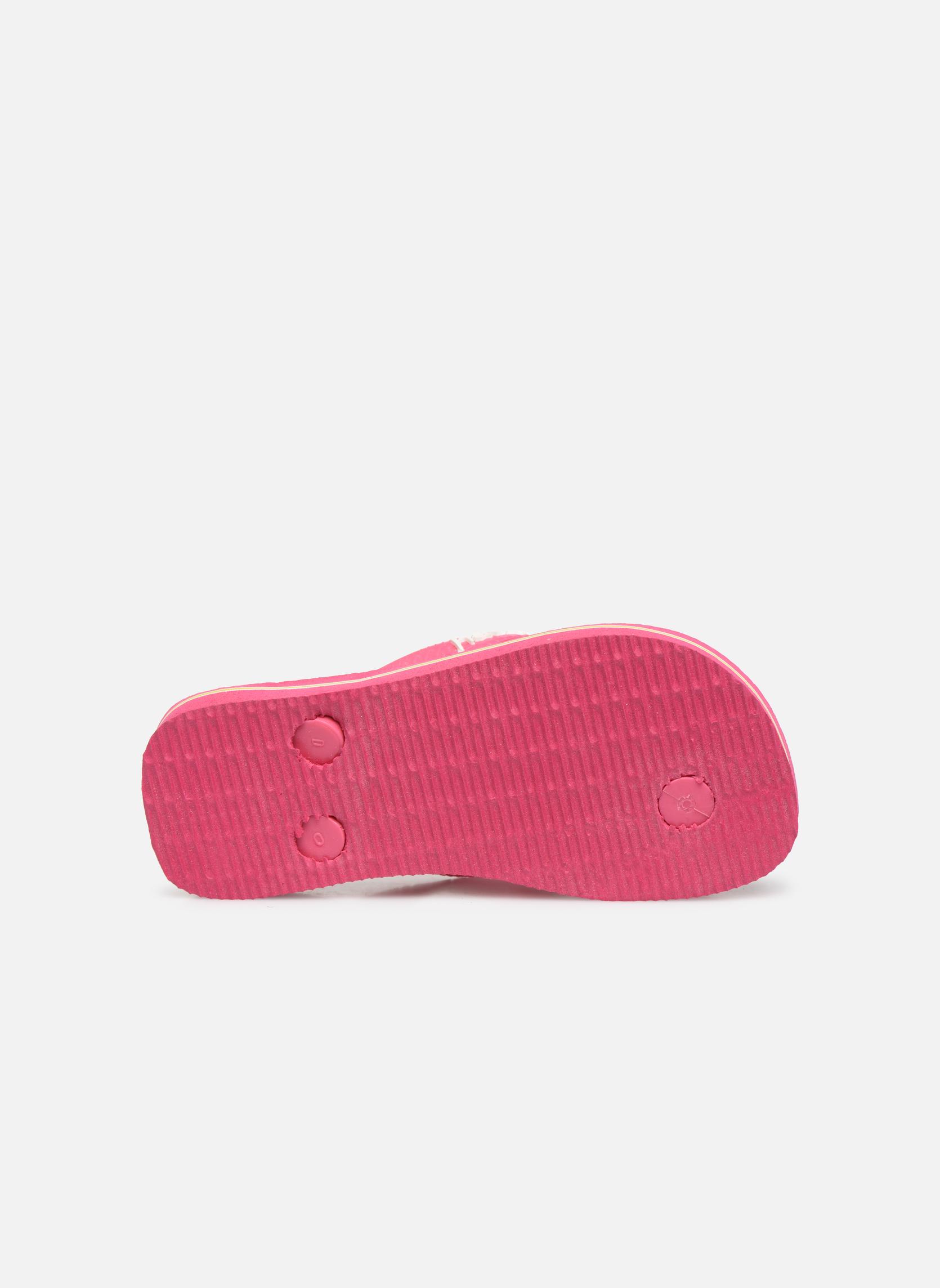 Slippers Havaianas Brasil Logo E Roze boven