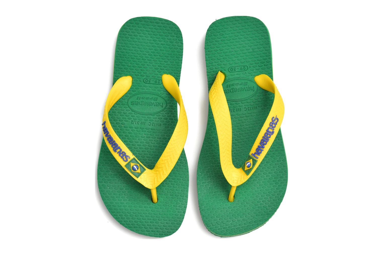 Brasil Logo E Green