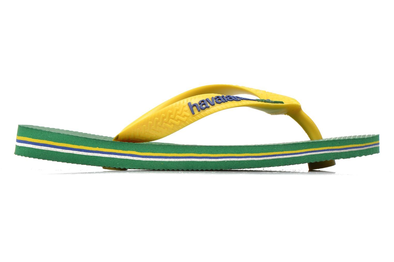 Slippers Havaianas Brasil Logo E Groen achterkant