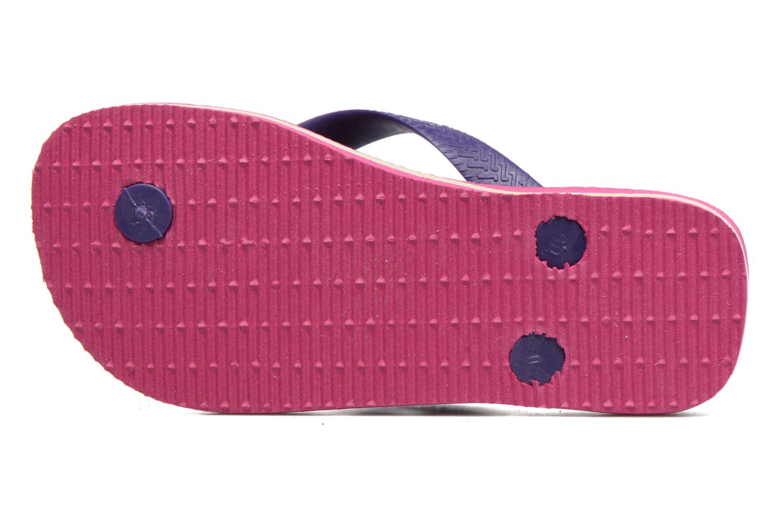 Flip flops Havaianas Brasil Logo E Pink view from above