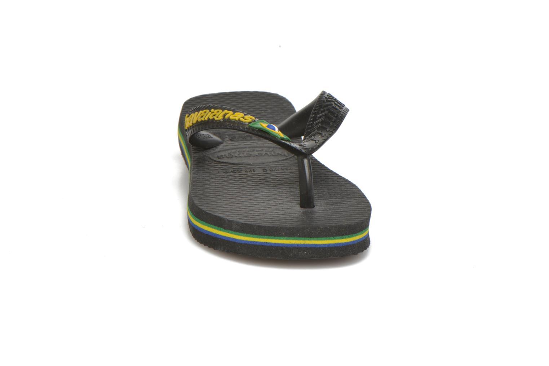 Slippers Havaianas Brasil Logo E Zwart model