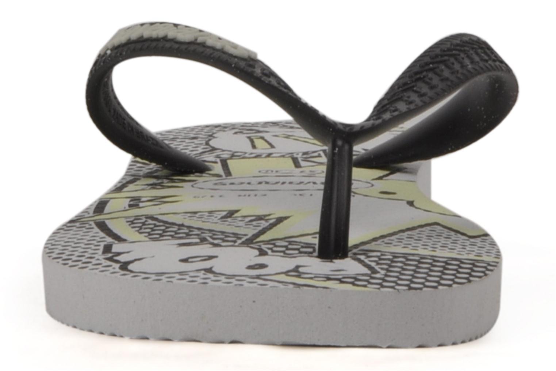 Tongs Havaianas Kids 4 Nite Gris vue portées chaussures