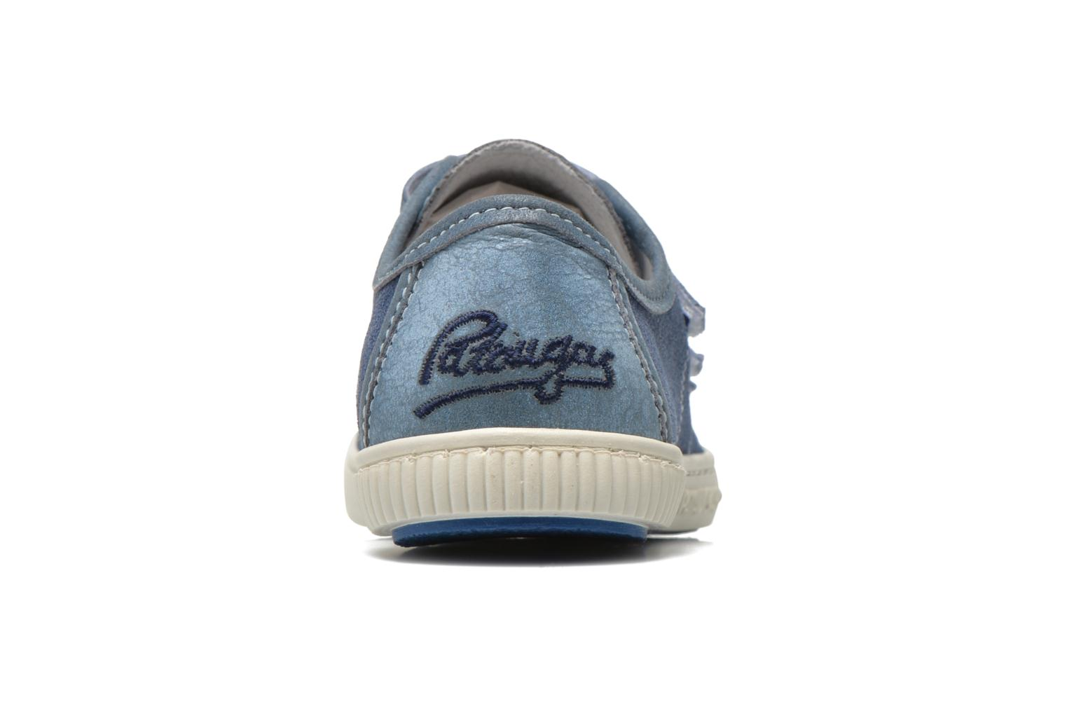 Trainers Pataugas Bistrot Blue view from the right