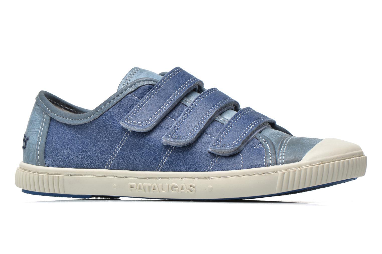 Sneakers Pataugas Bistrot Blå se bagfra