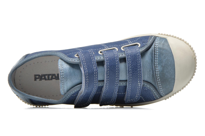 Sneakers Pataugas Bistrot Azzurro immagine sinistra
