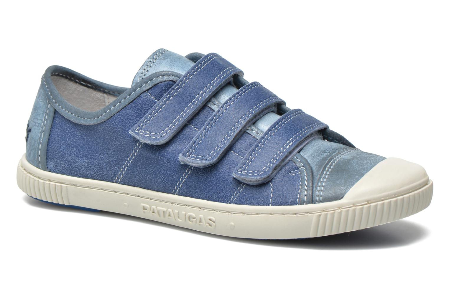 Trainers Pataugas Bistrot Blue detailed view/ Pair view