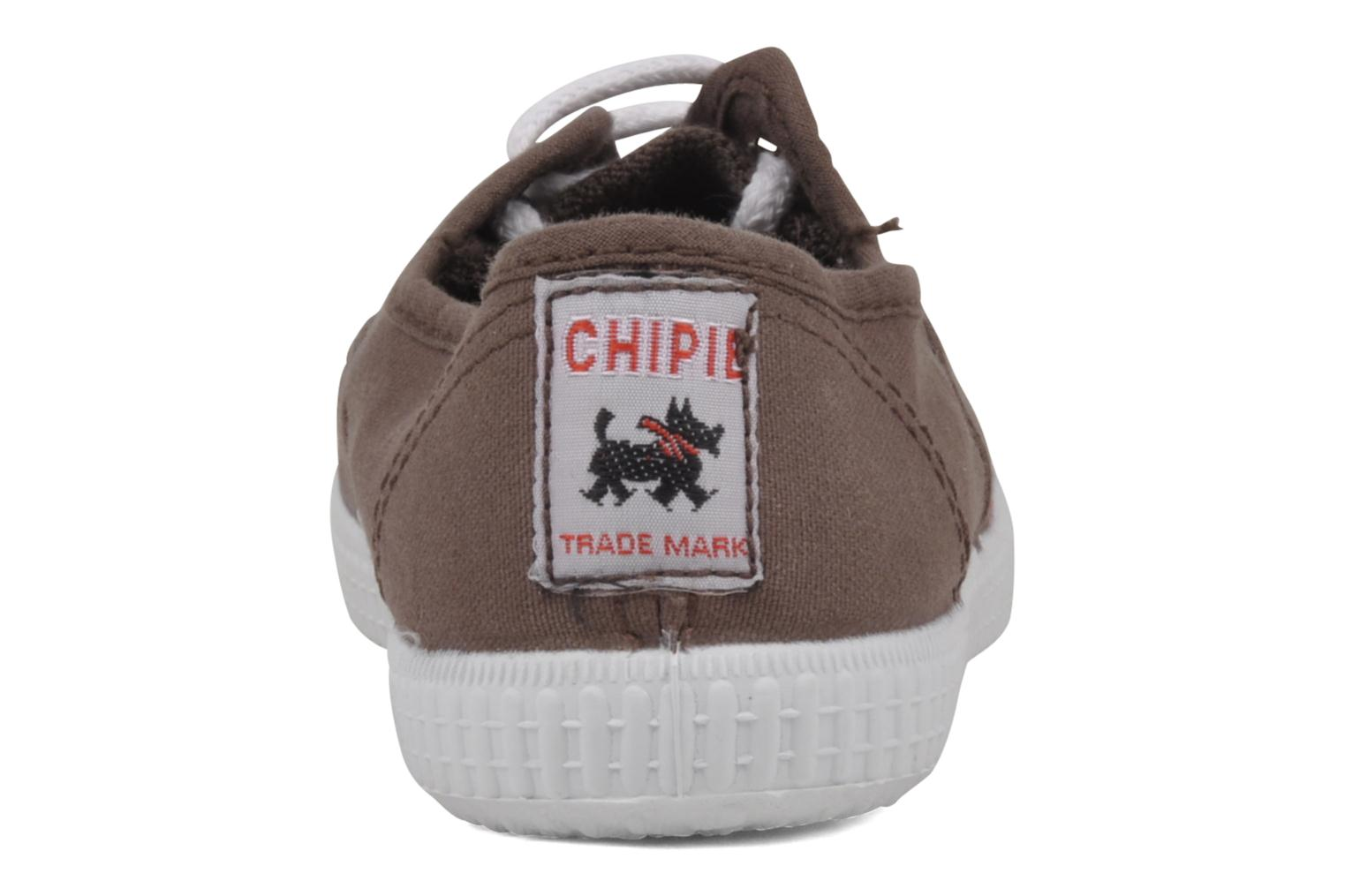 Trainers chipie bis Josepe Brown view from the right