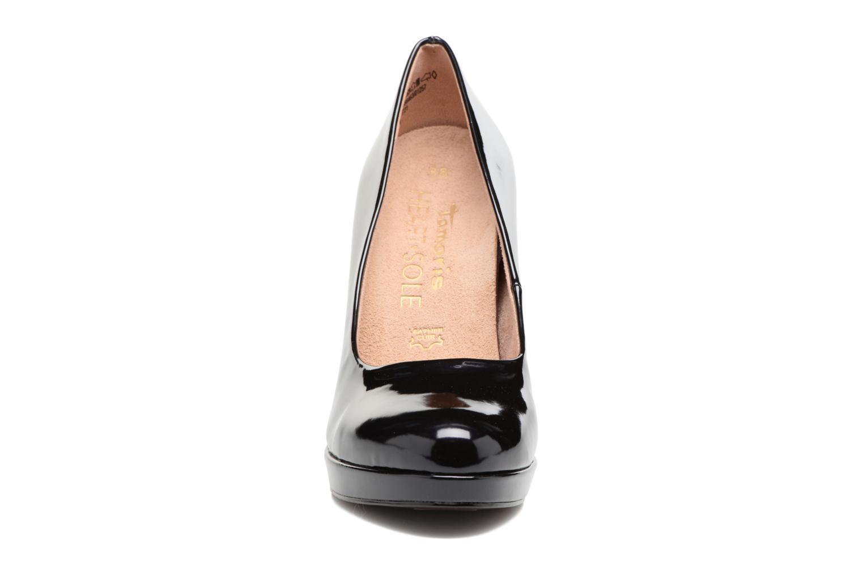 Escarpins Tamaris Mahal Bleu vue portées chaussures