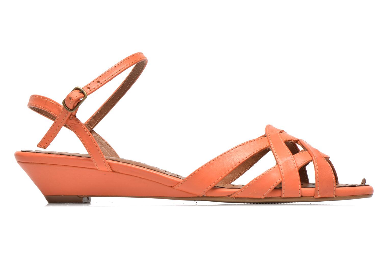 Sandales et nu-pieds Pastelle Cerfeuil Orange vue derrière