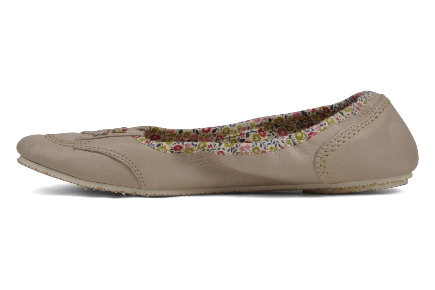 Ballerines Kickers Moon Walk Beige vue face